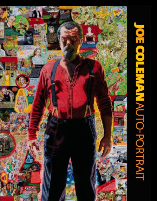 Cover of Auto-Portrait catalogue