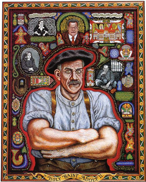 The Holy Saint Adolf Ii Adolf W 246 Lfli Joe Coleman